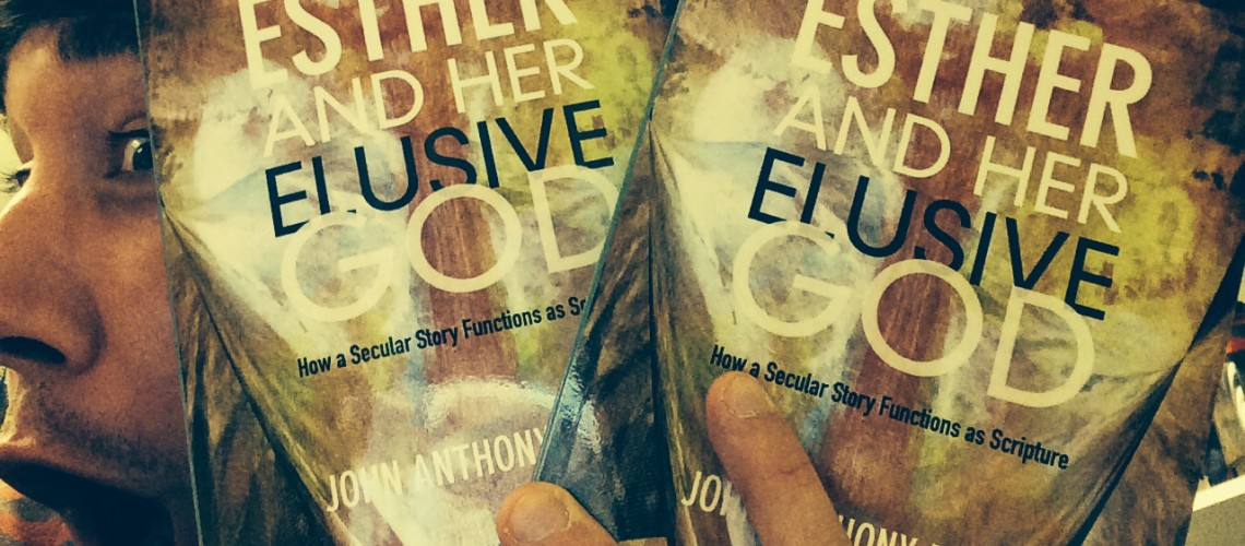 My Book, Esther and Her Elusive God, is Out!